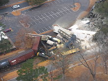 Graniteville train crash - Wikipedia
