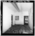 SLEEPING ROOM LOOKING NORTHWEST - Fort Rosecrans, Mining Casemate, Point Loma, San Diego, San Diego County, CA HABS CAL,37-SANDI,29-A-21.tif