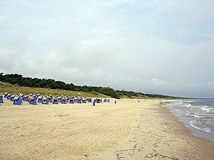 Strand in Trassenheide