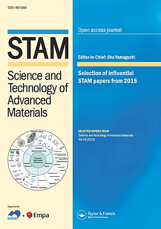 Science and Technology of Advanced Materials - Image: STAM Cover 2016