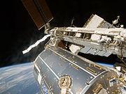 STS-124 Columbus and Garan