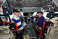 STS-131 flight day two activities Poindexter and Dutton.jpg