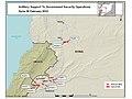 SYRIE - Vue satellite au 08 février 2012 - Artillerie syrienne - Carte de 9 positions -.jpg