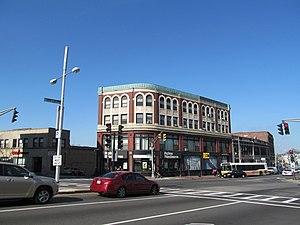 Uphams Corner - S. B. Pierce Building in Uphams Corner