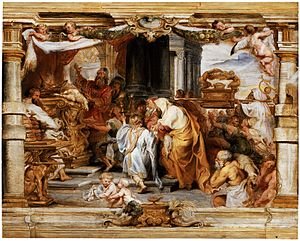 Vayikra (parsha) - The Sacrifice of the Old Covenant (painting by Peter Paul Rubens)