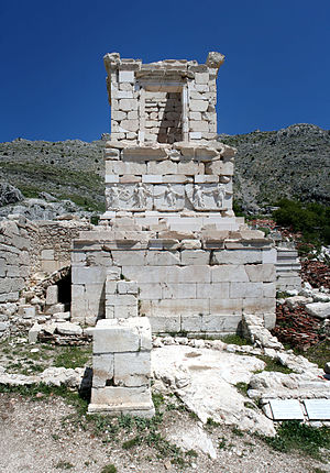 Sagalassos - Heroon in the northwest sector