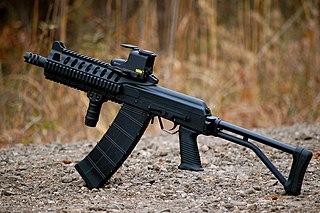 Saiga-12 Russian shotgun