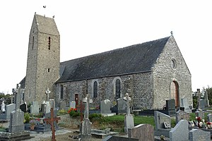 L'église Saint-Rémy.