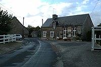 La mairie, hameau des Charderies.
