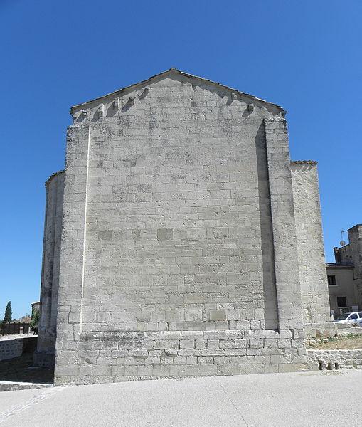 Église de Saint-Vincent-de-Barbeyrargues (34). Chapelle septentrionale.