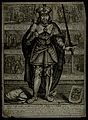 Saint Bavo. Engraving by J. Matham. Wellcome V0031689.jpg