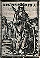 Saint Catherine. Woodcut. Wellcome V0031801.jpg