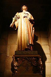 Saint Susanna statue - Cathedral of Santiago de Compostela.JPG