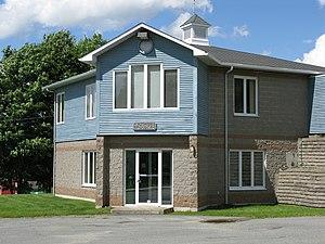 Sainte-Catherine-de-Hatley, Quebec - Sainte-Catherine-de-Hatley town hall.