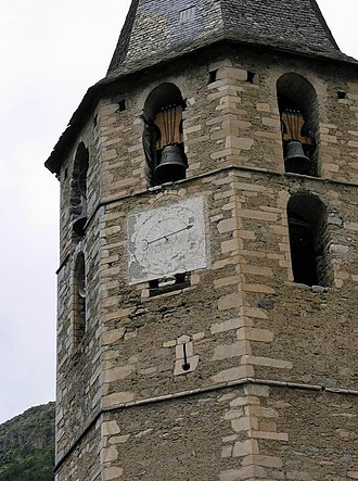 Naut Aran - Sant Andreu church, in Salardú
