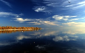 Salton Sea - Image: Salton Sea Reflection