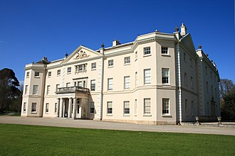 Emma Thompson - Saltram House which stood in for Norland Park in  Sense and Sensibility (1995)