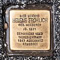 Salzburg - Neustadt - Stelzhamerstraße 14 - Stolperstein Helene Fröhlich.jpg