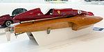 San Marco-Ferrari racing boat (1957) right Enzo Ferrari Museum.jpg