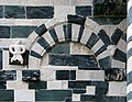 San michele di murato, facciata, con rilievi del 1140 ca. 02,0.jpg
