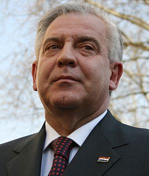 Croatian Democratic Union - Ivo Sanader, president of the HDZ from 2000 - 2009; expelled from party membership on 4 October 2010