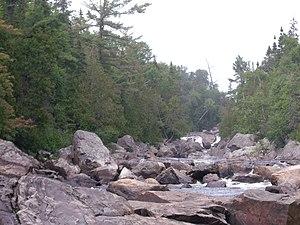 Sand River (Ontario) - Image: Sand River Ontario 001