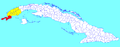 Sandino (Cuban municipal map).png
