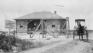 Sandy Hook Proving Ground - Entrance (1911)