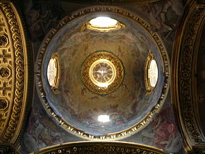 the Dome, Santa Maria Maddalena, Rome
