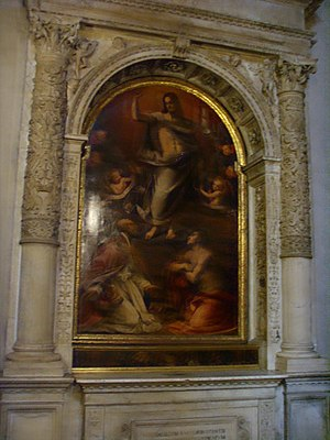 Maso da San Friano - Christ Reborn, Church of Santa Trinita, Florence.