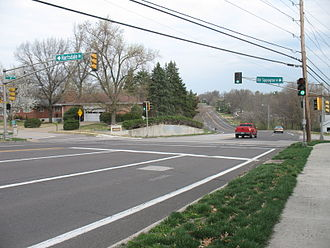 Crestwood, Missouri - Sappington Road, Crestwood, MO