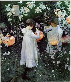 SARGENT John Singer Carnation, Lily, Lily, Rose, 1885-1886