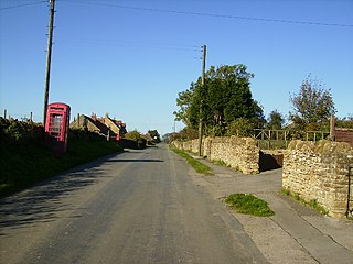 Scackleton village in United Kingdom