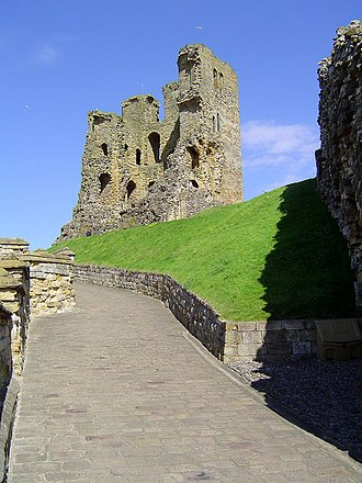 Scarborough, North Yorkshire - Ruins of Scarborough Castle