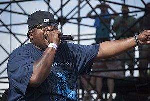 Horrorcore - Scarface, of the group Geto Boys, whose violent, horror-themed lyrics have been singled out as the first recorded example of horrorcore.