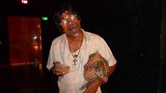 Music of Goa - Image: Scene from a tiatr (a popular form of Konkani theatre) in Goa