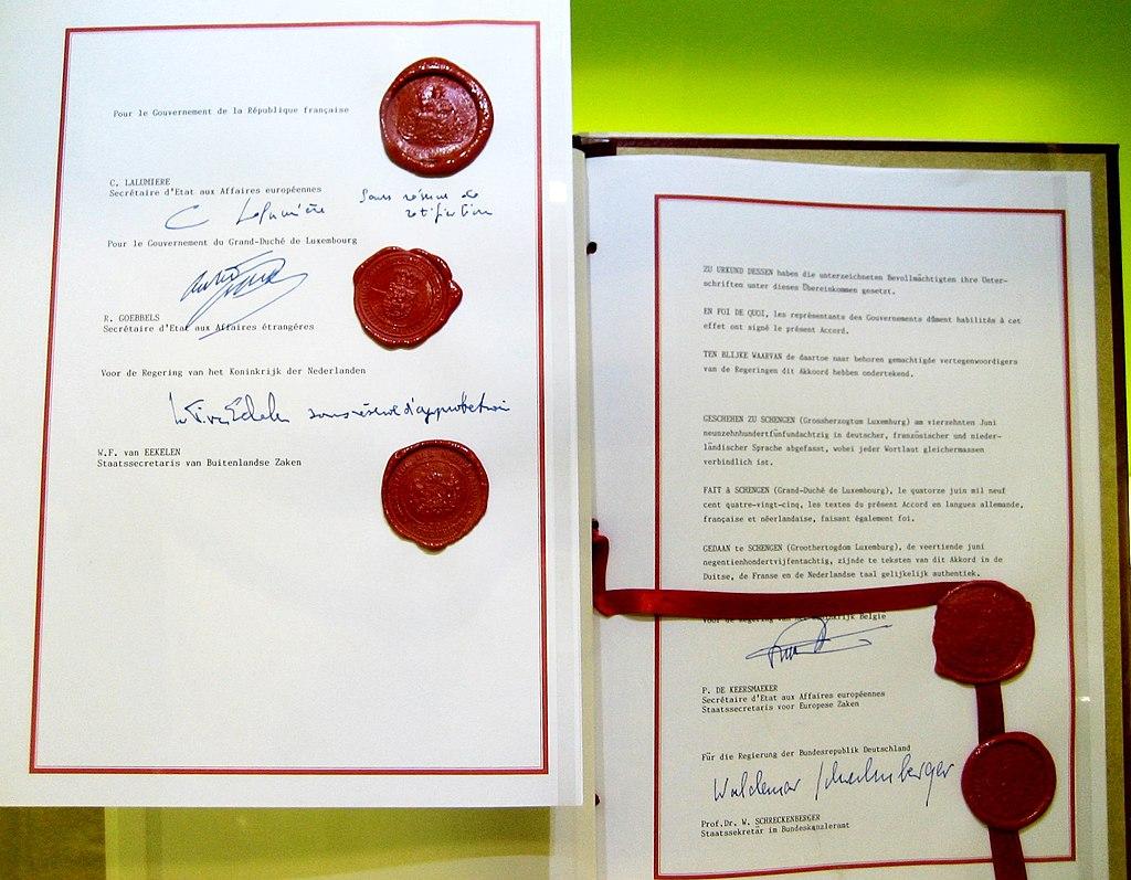 """Резултат с изображение за """"Шенгенския договор."""""""