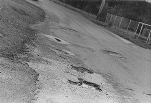 Pothole puddles