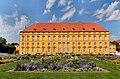 Schloss Osnabrück Rückansicht vom Schlosspark. Universität Osnabrück. UOS. Foto Clemens Ratte-Polle. 2015.08.30.DSC07575.JPG