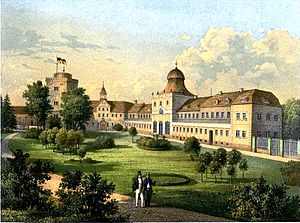 House of Hatzfeld - Image: Schloss Trachenberg Sammlung Duncker