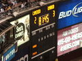 Scoreboard in 81st minute at Club América & Real Madrid friendly match 2010-08-04.JPG