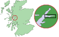 Scotland Map (Firth of Lorn Detail) Loch Leven.png