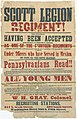 Scott Legion (20th PA Volunteer Infantry) 1861 recruitment notice.jpg
