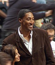 Scottie Pippen and his wife on December 15, 2006.jpg