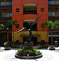 Sculpture in Novotel Batam.jpg