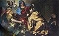 Scuola Grande dei Carmini - Sala dell'Albergo - La Vergine presenta lo scapolare a S. Alberto di Sicilia.jpg