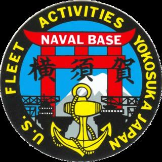 United States Navy base in Yokosuka, Japan