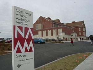 Northwest African American Museum - Northwest African American Museum on its second day of operation, 2008