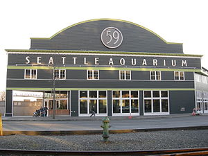 Seattle Aquarium - Image: Seattle Pier 59 01
