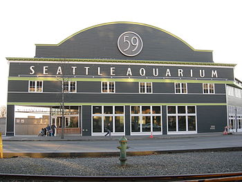 Seattle Aquarium, Pier 59, Seattle, Washington...